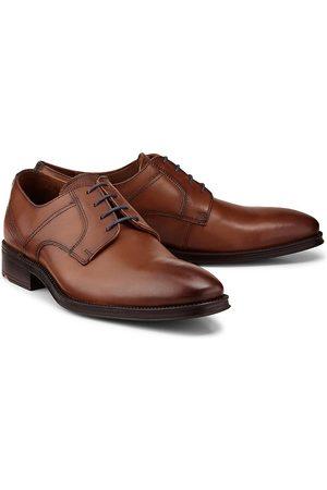 Lloyd Herren Elegante Schuhe - Schnürer Gala in mittelbraun, Business-Schuhe für Herren