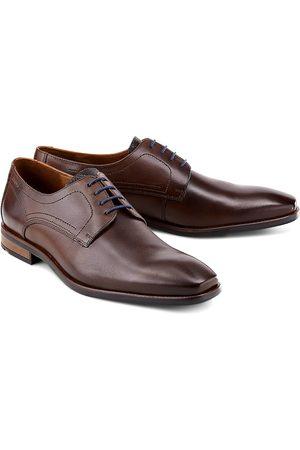 Lloyd Herren Elegante Schuhe - Schnürer Don in dunkelbraun, Business-Schuhe für Herren