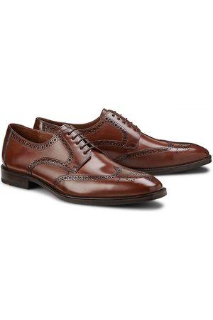 Lloyd Schnürschuh Lucien in dunkelbraun, Business-Schuhe für Herren