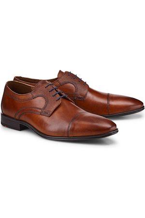 Lloyd Herren Schnürschuhe - Schnürschuh Orwin in mittelbraun, Business-Schuhe für Herren