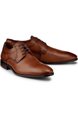 Lloyd Herren Schnürschuhe - Schnürschuh Osmond in mittelbraun, Business-Schuhe für Herren