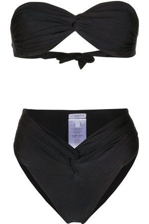 LA REVECHE Damen Bikinis - Bikini mit Knotendetail