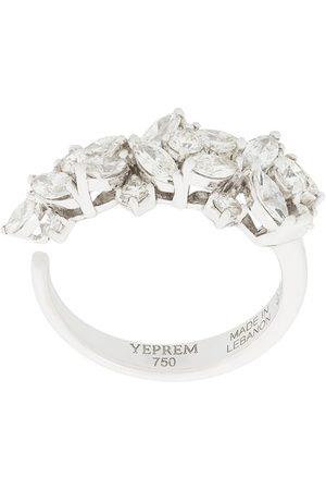 Yeprem Damen Ringe - 18kt Weißgoldring mit Diamanten