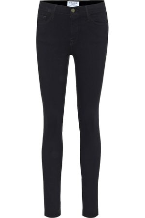 Frame Damen High Waist Jeans - Mid-Rise Skinny Jeans Le Color