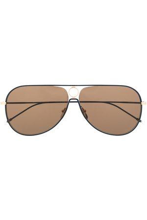 Thom Browne Eyewear TBS115' Pilotenbrille