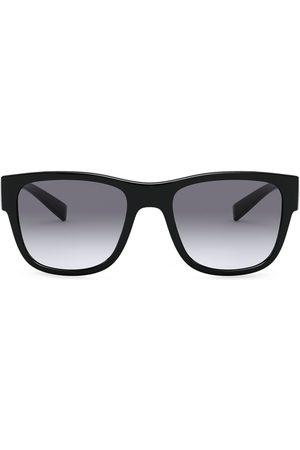 Dolce & Gabbana Eckige Sonnenbrille mit Farbverlauf