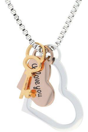 vivance collection Kette mit Anhänger »Schlüssel zum Herzen«