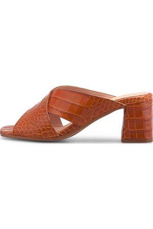 Belmondo Damen Sandalen - Kroko-Mule in , Sandalen für Damen