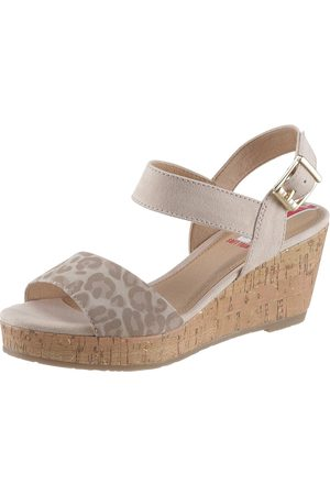 s.Oliver Sandalette im angesagtem Animal Look