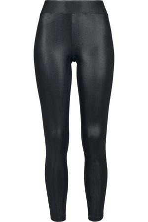 Urban classics Damen Leggings & Treggings - Ladies Imitation Leather Leggings Leggings