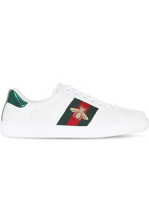 """Gucci Ledersneakers Mit Ayersleder """"new Ace"""""""