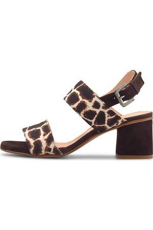 Belmondo Fashion-Sandalette in mittelbraun, Sandalen für Damen