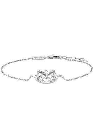 JULIE JULSEN Uhren - Armband »LOTUSBLÜTE , JJBR0715.1«, mit Zirkonia