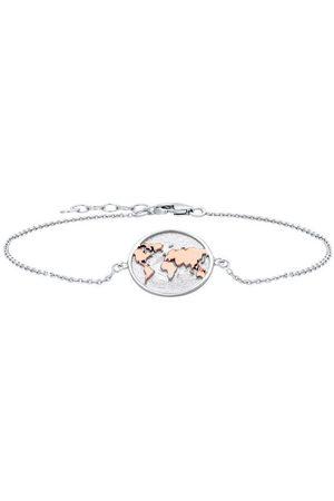 JULIE JULSEN Uhren - Armband »WORLD - ROTVERGOLDET, JJBR0704.8«