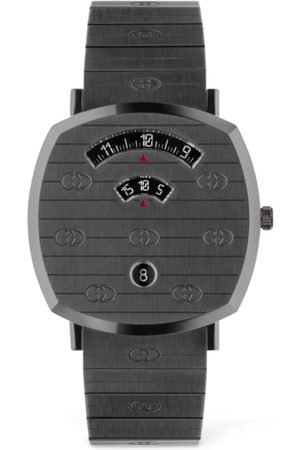 Gucci 38mm Grip Gunmetal Colored Watch