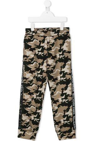 Balmain Jogginghose mit Camouflage-Print
