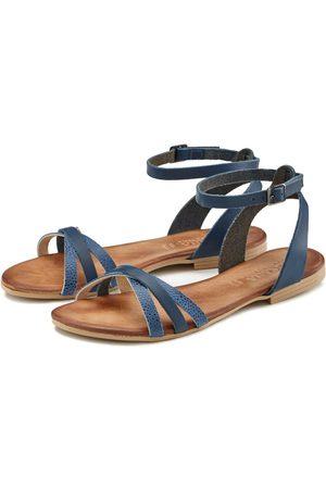 Lascana Sandale aus weichem Leder