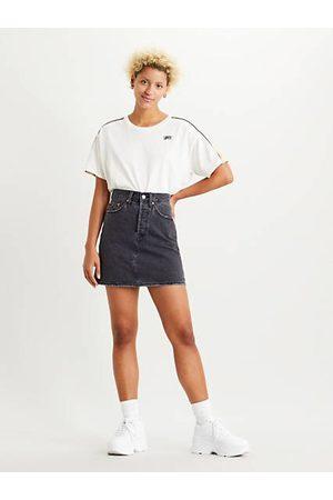 Levi's High Waisted Deconstructed Skirt - /