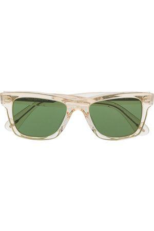 Oliver Peoples Sonnenbrille mit eckigem Gestell