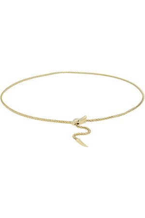 vivance collection Goldkette »golden snake«