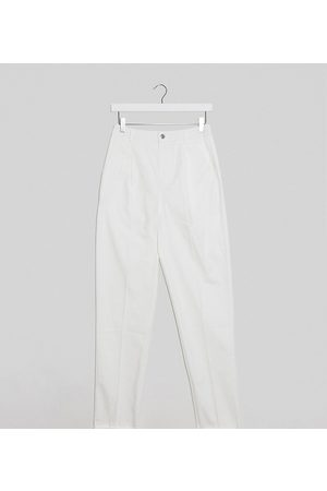 ASOS ASOS DESIGN Tall – Chinohose in Creme