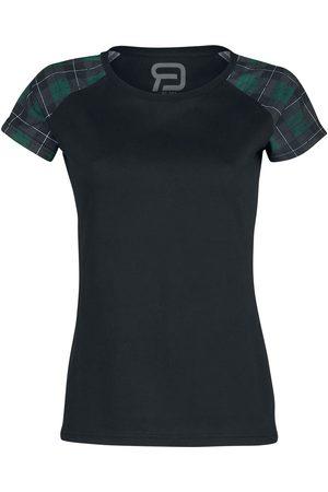 RED by EMP Damen T-Shirts, Polos & Longsleeves - Short Raglan Road T-Shirt