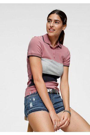 KangaROOS Damen Poloshirts - Poloshirt mit Colorblocking