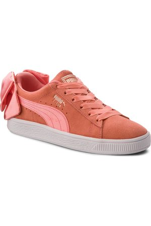 Puma Suede Bow Jr 367316 01 Shell Pink/Shell Pink