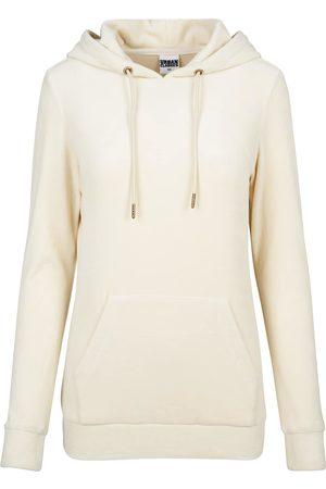 Urban classics Damen Sweatshirts - Hoody 'Velvet