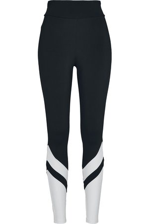 Urban classics Damen Leggings & Treggings - Ladies Arrow High Waist Leggings Leggings /weiß