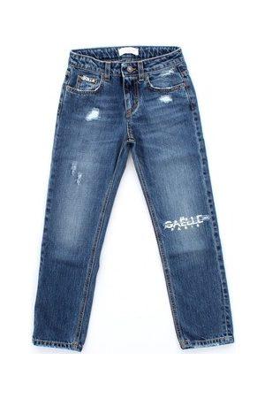 GAËLLE Kinderjeans 2731D0024 schlank Kinder Blauer Jeansstoff