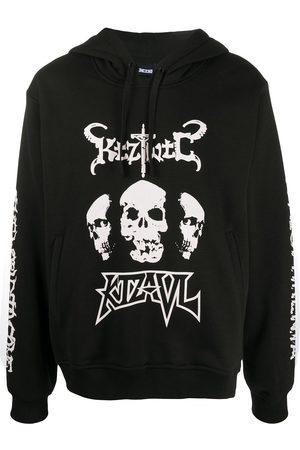 KTZ Sweatshirts - Kapuzenpullover mit Totenkopf-Print