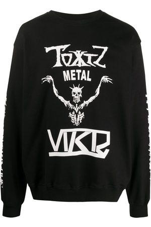KTZ Sweatshirt mit Skelett-Print