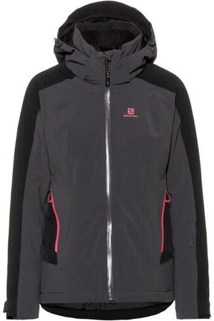 Salomon Jacke BRILLIANT, Anthrazit, M