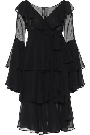 Norma Kamali Minikleid aus Chiffon