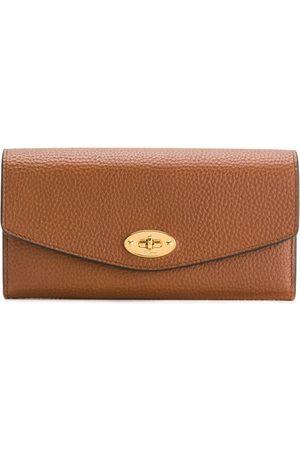 MULBERRY Pebbled twist-lock purse