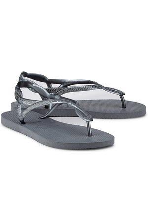 Havaianas Damen Sandalen - Zehentrenner Luna in dunkelgrau, Sandalen für Damen
