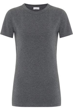 Brunello Cucinelli T-Shirt aus einem Baumwollgemisch