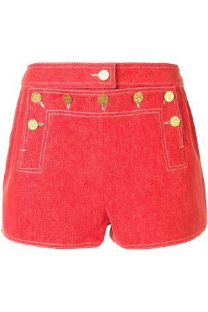 CHANEL Shorts mit Knöpfen