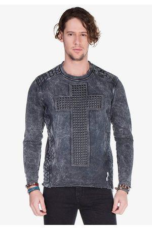Cipo & Baxx Sweatshirt mit toller Waschung