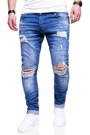 behype Slim-fit-Jeans »SLY« mit Destroyed-Elementen