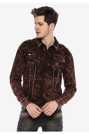 Cipo & Baxx Jeansjacke »CAIN TWO« mit tollem Allover-Print