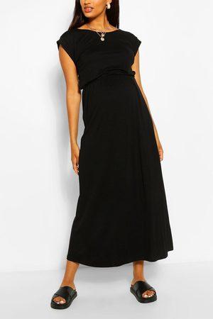 Schwarze Langes Kleid Armeln Maxikleider Fur Damen Vergleichen Und Bestellen