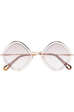 Chloé Damen Sonnenbrillen - Brille mit eckigem Gestell