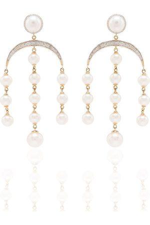 Mateo 14kt Goldohrringe mit Perlen