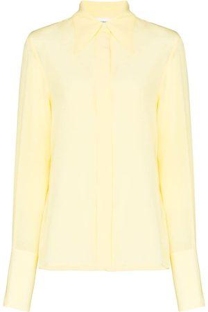 Victoria Beckham Hemd mit Haifischkragen