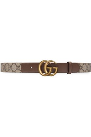 Gucci Damen Gürtel - Gürtel mit Logo-Schnalle