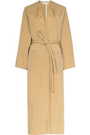 KASSL Editions Damen Trenchcoats - Gewickelter Trenchcoat