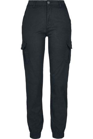 Urban classics Damen Cargohosen - Ladies High Waist Cargo Pants Cargohose