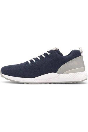 Marco Tozzi Damen Schnürschuhe - Trend-Sneaker in dunkelblau, Schnürschuhe für Damen
